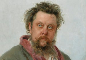 Modest Mussorgsky, 1881 by Ilya Repin, painted days before the composer's death.
