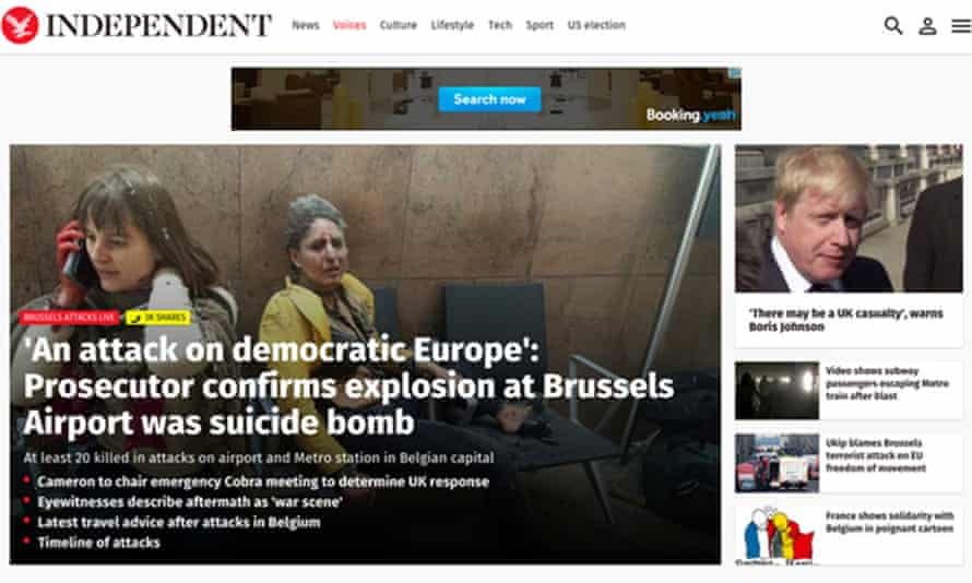 The Independent is going online-only when the print title closes this weekend.