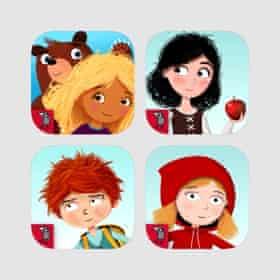 Nosy Crow fairy tales bundle app icon