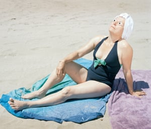 Basking in the bright light of the Mediterranean coast, the women in Anaïs Boileau's photos calmly worship the sun
