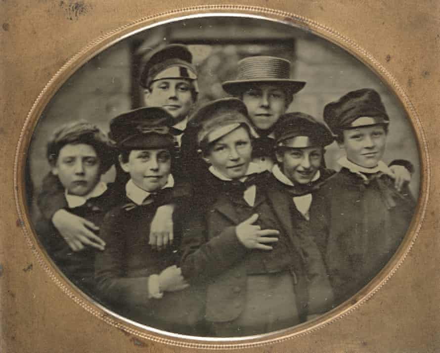 Group of young boys