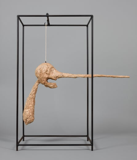 The Nose, by Alberto Giacometti