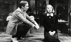 Peter Eyre and Glenda Jackson.