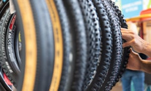 Bicycles, bike tyres, wheel rims and spokes face a tariff hike.