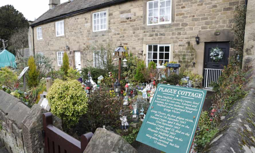 Plague Cottage in Eyam.