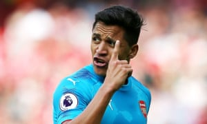 Alexis Sánchez had hoped to join Manchester City from Arsenal.