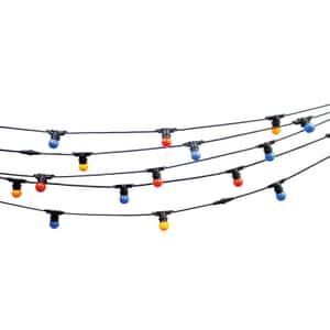 Festoon outdoor lights, from £39.95, cableandcottom.com