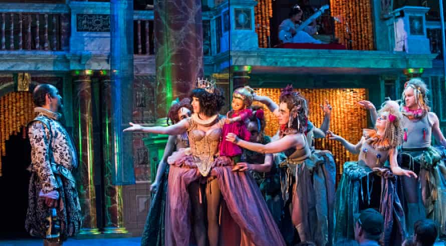 Rice's 2016 production of A Midsummer Night's Dream at the Globe.