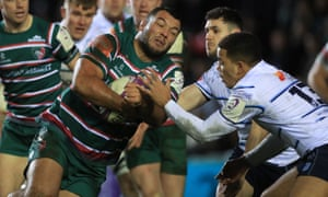 Ellis Genge (here playing for Leicester against Cardiff Blues) is setting up a rival union to the Rugby Players' Association.