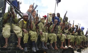 al-Shabab fighters sit on a truck in Mogadishu, in a picture taken in 2009.