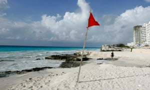 The Mexican tourist hub of Cancún has experienced a rise in drug-related violence.