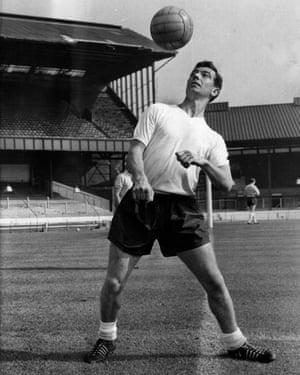 Johnny Haynes … the first footballer to earn £100 per week.