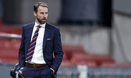 Gareth Southgate: 'Young people err more often than older people do. But that doesn't mean that you can hold that against them for ever.'