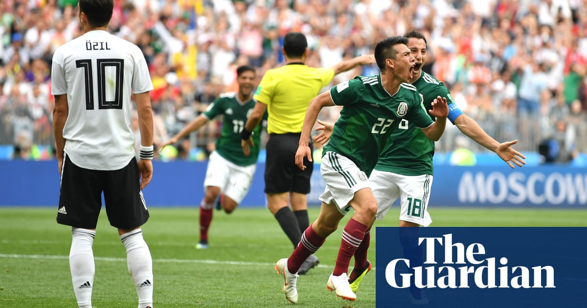 afe867d2e Mexico s Hirving Lozano stuns world champions Germany for brilliant ...
