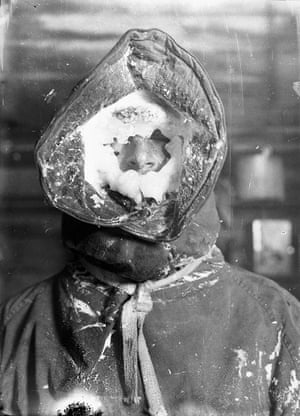 Ice mask, C.T. MadiganThe exploration of new lands established precedence to claims, formalised in 1936 as the Australian Antarctic Territory.