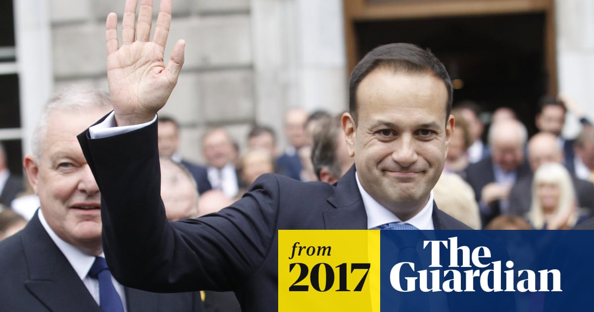 2b66dc1ae Ireland s first gay prime minister Leo Varadkar formally elected ...