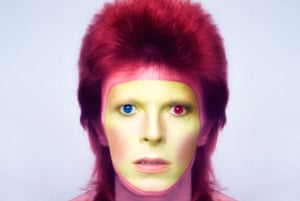 'It was a message from a more complicated world' … Bowie in 1973.