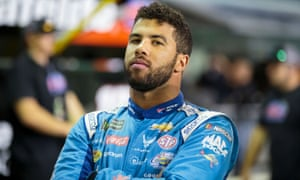 Bubba Wallace was a crucial part of the campaign to ban the Confederate flag from Nascar events