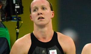 Mel Marshall at the Beijing Games