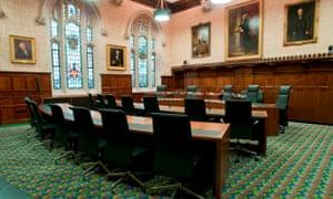 秘密委员会(JCPC)法庭的司法委员会
