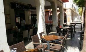 Terrace at Kalaka, Huelva