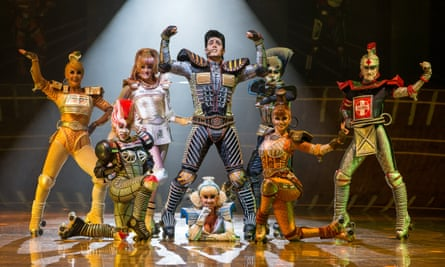 the Elvis-like Greaseball and friends in Bochum's Starlight Express.