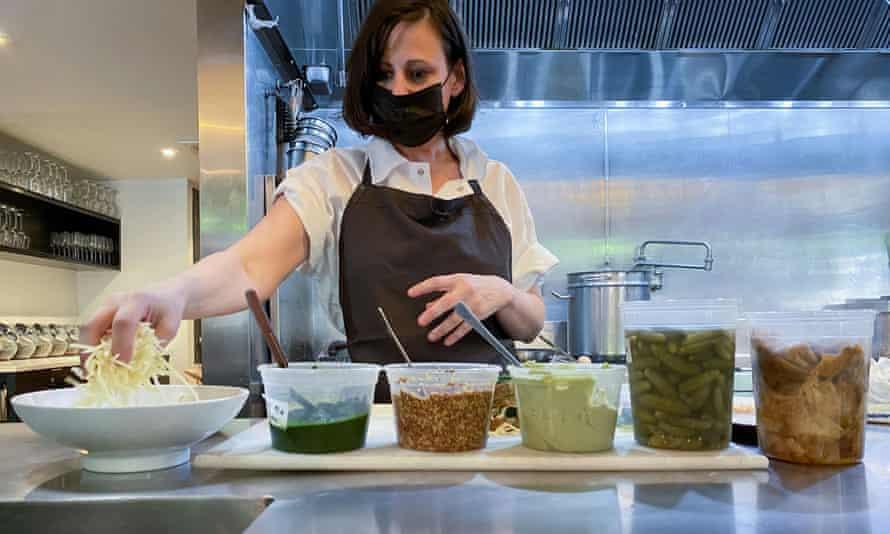 Amanda Cohen, chef and owner of Dirt Candy, has encouraged other restaurant owners to raise staff wages for a more stable workforce.