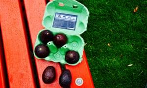 Tesco is calling the mini avocados Zilla Eggs.