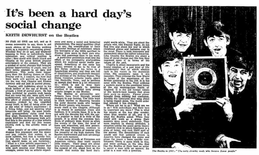 The Guardian, 18 April 1970.