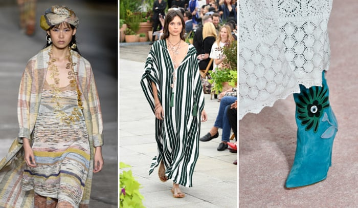 c53f7e9d80 The SS19 takeaway: 10 of the most stylish trends from the shows – a photo  essay | Fashion | The Guardian