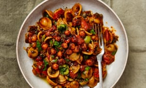 All-in-one pasta: Yotam Ottolenghi's orecchiette cooked in chickpea and tomato sauce.