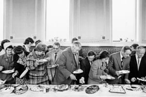 Mayor of Todmorden's inaugural banquet - Martin Parr, 1977