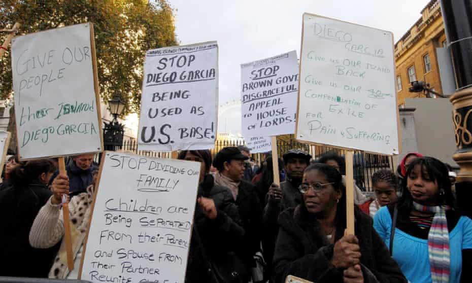 Chagos Island protest