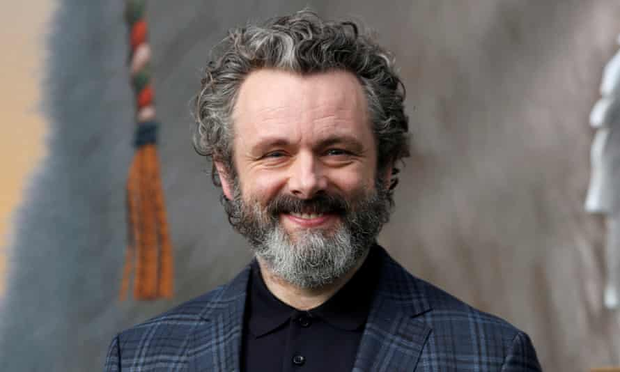 Back at the National … Michael Sheen.