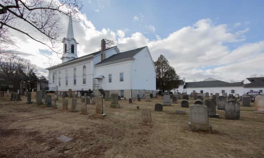 The Liberty Corner Presbyterian church, a few blocks away from the proposed Islamic Center of Basking Ridge.