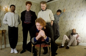 Simply Red, with Mick Hucknall, centre, in 1986.