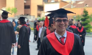 Milad Aghajohari, a Stanford student denied boarding of a flight from Iran to the US on 9 September 2019 despite having a visa.