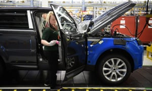 Jaguar Land Rover >> Jaguar Land Rover Reports Record 3 6bn Loss Business The Guardian