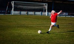 Footballer Dickie Borthwick.