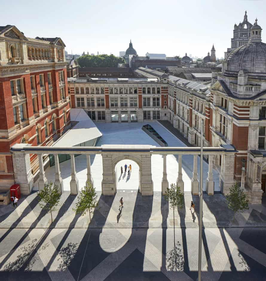 The design for the V&A's new Exhibition Road Quarter.