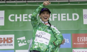 WM3 Pro Cycling's Kasia Niewiadoma is delighted to retain the leader's jersey after a tough stage four of the Women's Tour of Britain.