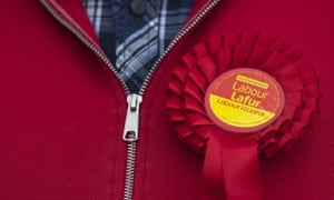 A Labour supporter in Cardiff