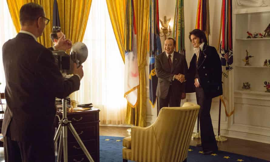 'Larky drama': Kevin Spacey and Michael Shannon in Elvis & Nixon