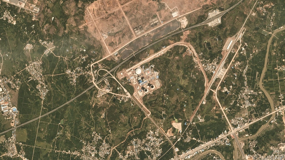 Satellite images show 'runaway' expansion of coal power in