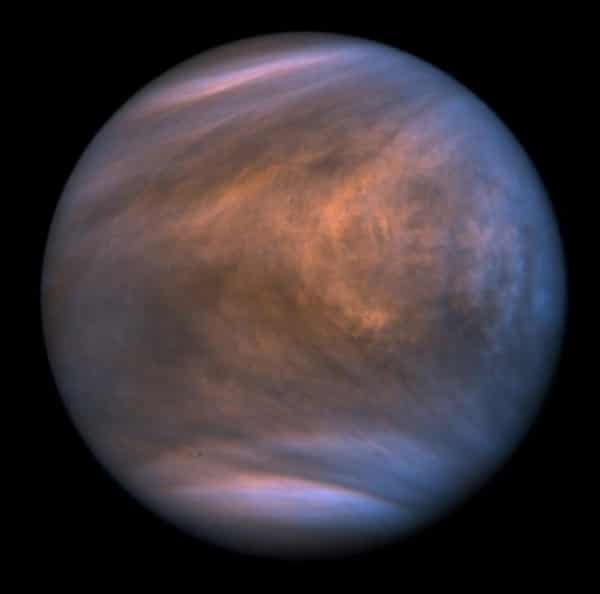 Clouds of Venus captured by the Akatsuki probe.