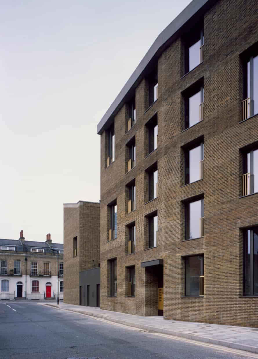 Shepherdess Walk by Jaccaud Zein Architects.
