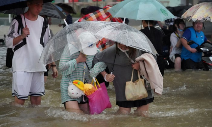 China, China floods: death toll climbs as questions raised over preparedness, Harbouchanews