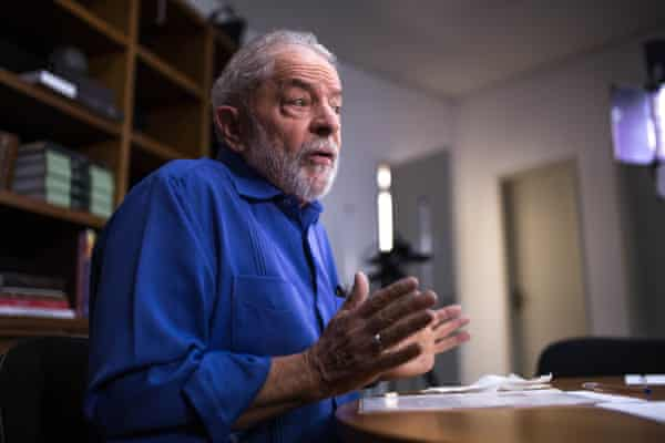 """""""Brazil's image is negative right now. We have a president who doesn't govern,"""" Lula said"""