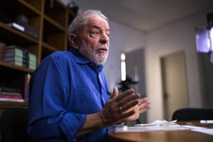 """Brazil's image is negative right now. We have a president who doesn't govern,"" Lula said"