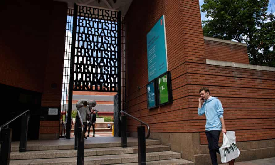 The British Library in central London. The library declined to store the world's biggest collection of Taliban-related documents over concerns it could be prosecuted under terrorism laws.